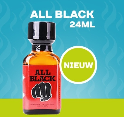 All Black Poppers - 24ml