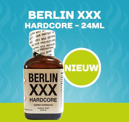 Berlin XXX Hardcore Poppers - 24ml